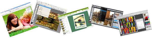 Online picture editors