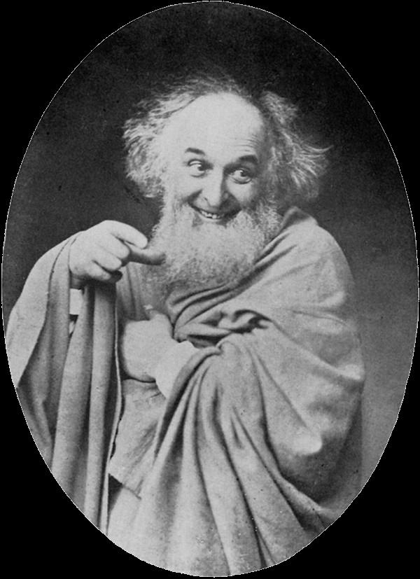 Rejlander as Democritus